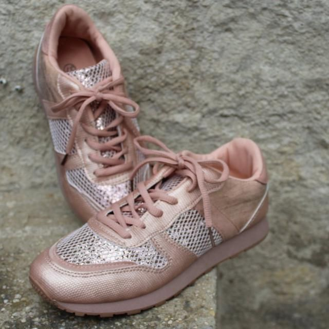 ab74b4e92b7d 2019 Best Rose Gold Shoes Images And Outfits