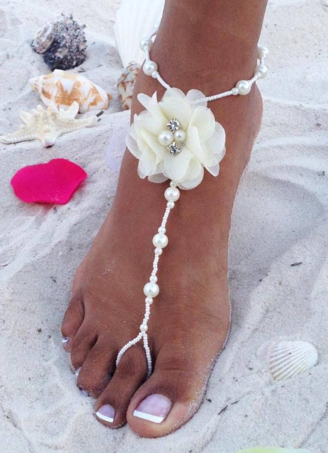 ebd72584cd894c 2019 Best Beach Wedding Footless Sandals Images And Outfits