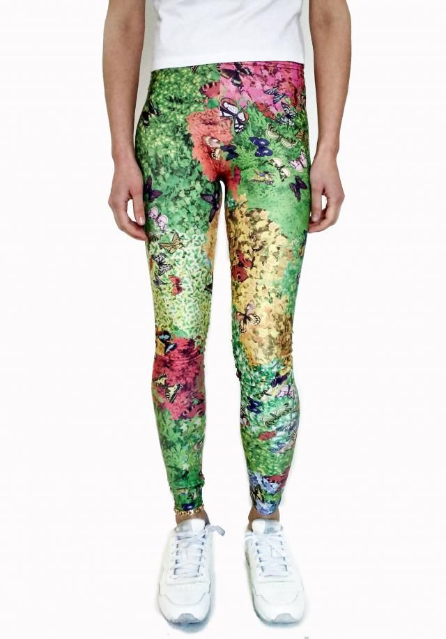 0b1fa8bb72457b Plants & Butterflies Leggings / Nature Leggings / Butterfly Tights /  Woman Leggings / Cute · #butterflies leggings #butterfly pants ...