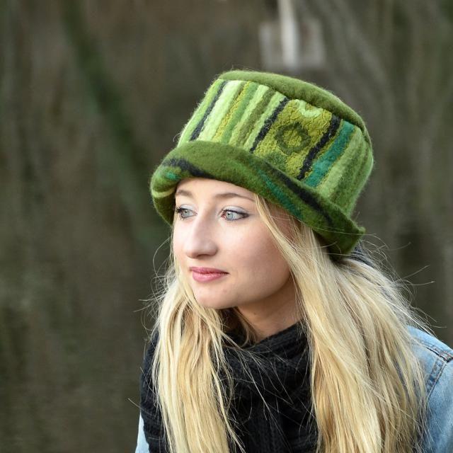 910b7f2247c Felted wool hats Womens winter hats Felt hat for women Women amp  s wool hat