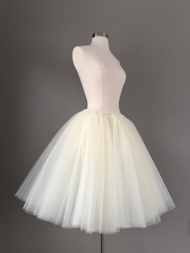 0c41312aef Ivory Tulle Skirt - Adult Bachelorette party Tutu- ivory adult tutu, white  adult tulle