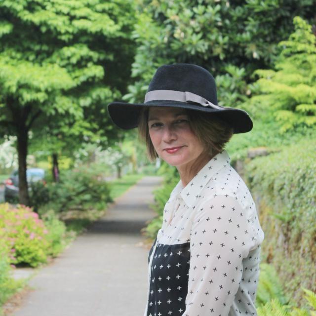 3668a5191943b Custom Wide Brim Fedora for Women in Velour Felt ~ Katharine ~ rain hat