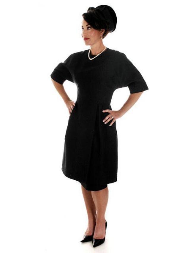 e996057991c Vintage 1950s Teal Traina Party Dress Designer 50s Cocktail Dress Little  Black Dress S