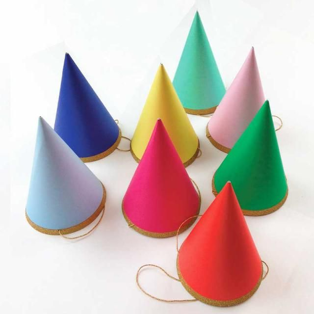 Birthday Party Hats 8 Meri Happy Hat