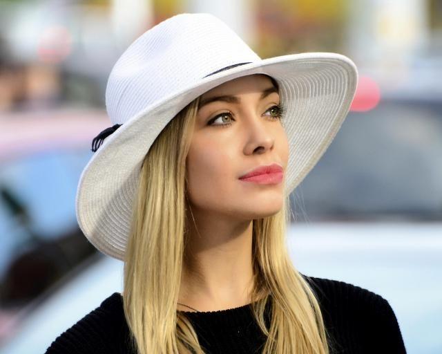 59b2144f358ec8 Wide Brim Fedora Hat Women&;s Sun Hat Men&;s Straw Hat. #black boho  ...