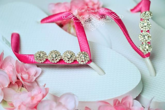 e37b0a185198 2019 Best Bridal Flip Flops Images And Outfits