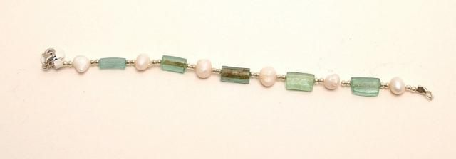 Roman Glass Bracelet Authentic /& Luxurious With Certificate.