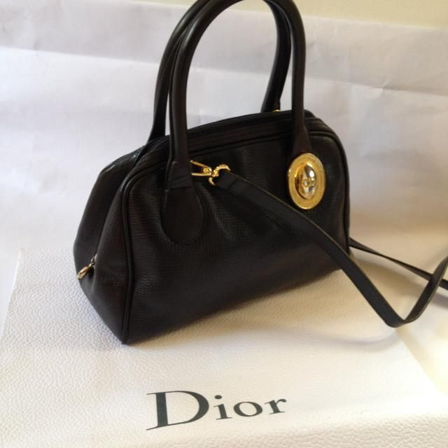 3d92208195c Authentic and beautiful bag leather in excellent condition vintage  CHRISTIAN DIOR