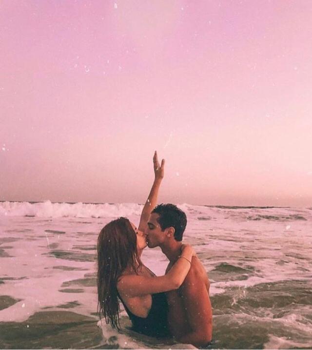 Beach memories with bae