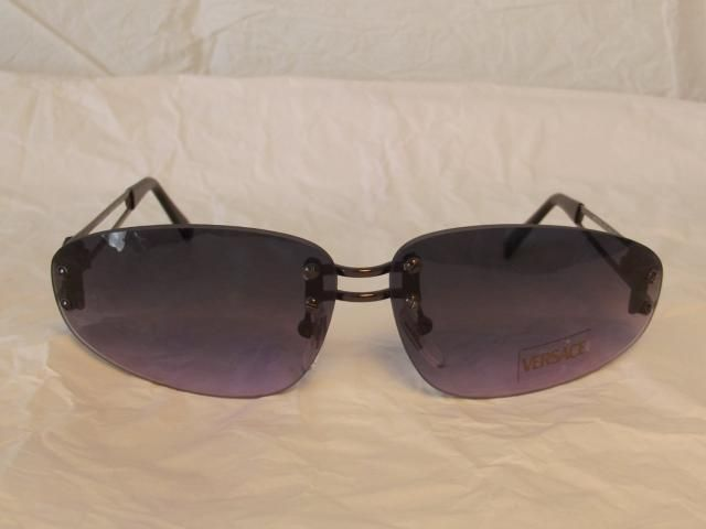 666794b0e53f Gianni Versace Medusa Rimless Vintage Sunglasses made in italy in the 80s