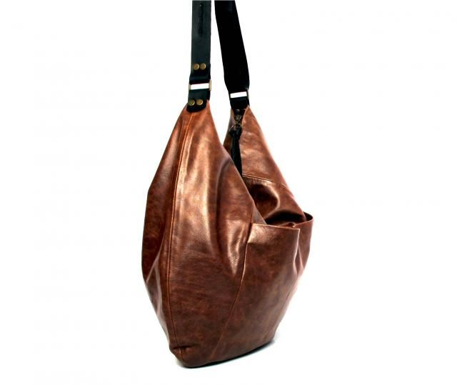 04f2aec17bf3 Brown leather hobo bag - soft leather purse SALE brown leather bag - leather  tote bag