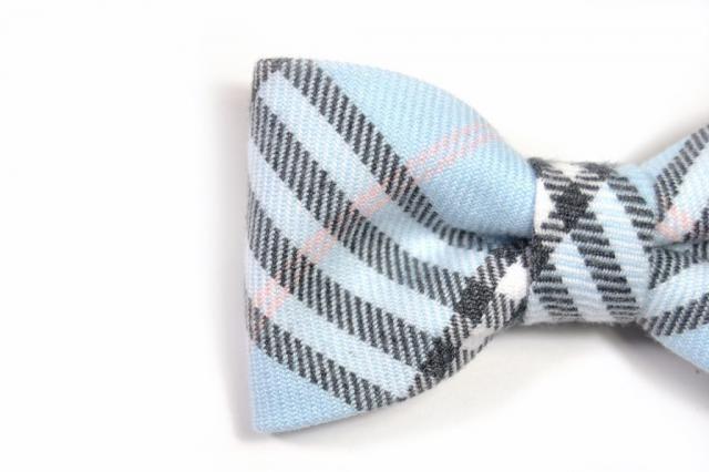 Toddler Boy 4T 5T Robin Egg Blue Clip On Cotton Bow Tie Bowtie