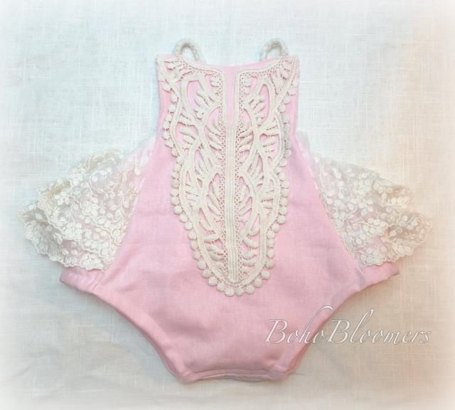 2a3c9a8bc Baby Girl Clothing Boho Baby Shower Cake Smash Photography Prop Vintage  Boho Clothing Toddler Birthday Pink