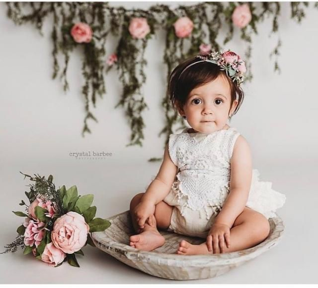 282cc900d397 2019 Best Cake Smash Romper Images And Outfits