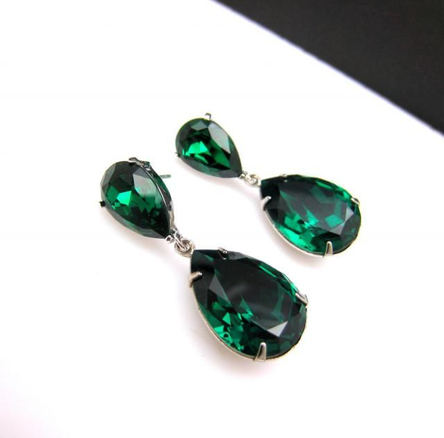ed5b9e6f6f723 2019 Best Emerald Teardrop Earrings Images And Outfits   Z-Me ZAFUL
