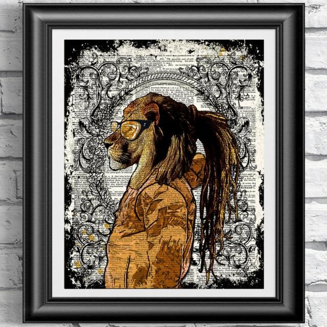 2019 Best Lion Wall Art Images And Outfits Z Me Zaful