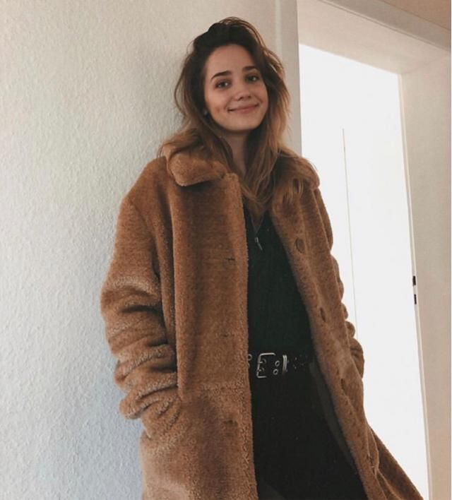 I love going out in style, it's very comforting and very cute especially this brown coat
