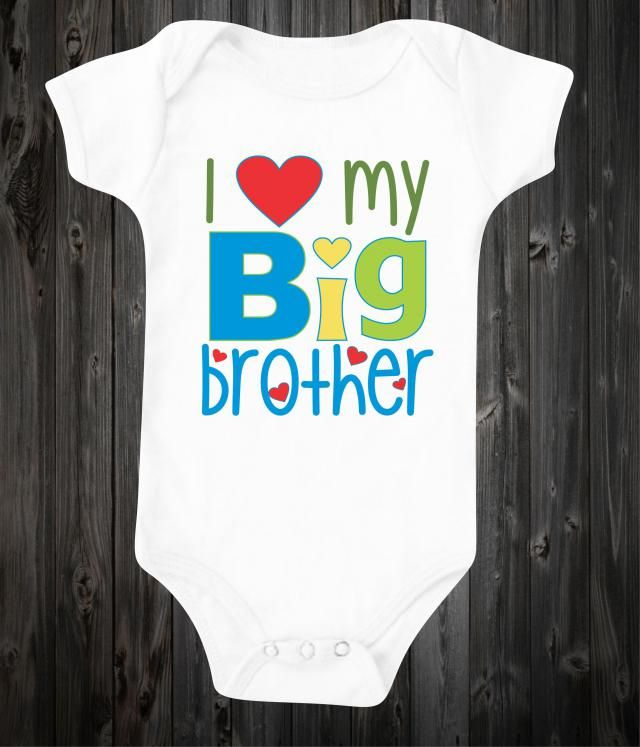 62f123df6 I love my big brother Newborn Baby Onesie Unisex Baby shower gift Baby  Bodysuit Gender Neutral