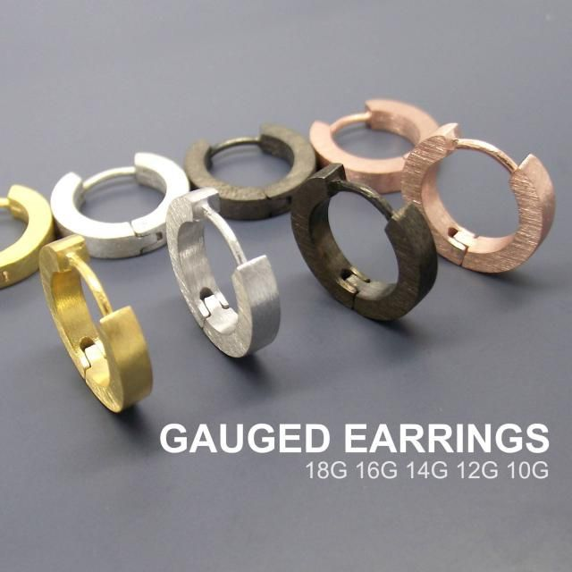 2019 Best Gold Gauge Earrings Images And Outfits | Z-Me ZAFUL