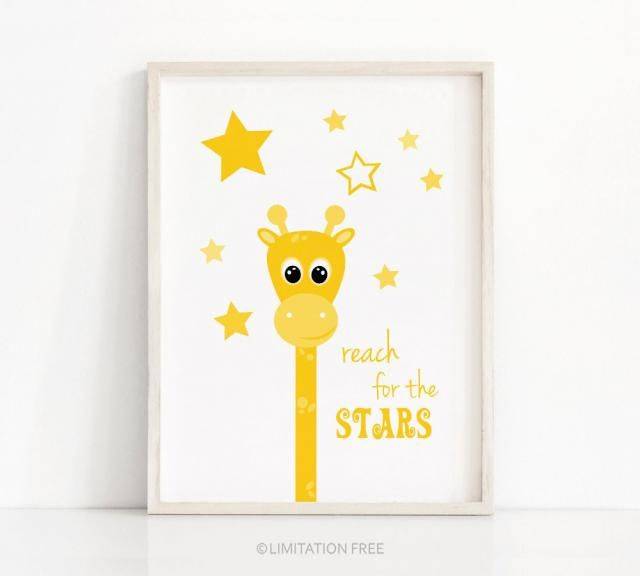2019 Best Giraffe Nursery Wall Art Images And Outfits Z Me