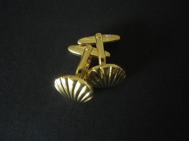 Italy leaning Tower of Pisa Gold-tone Cufflinks Money Clip Engraved Gift Set
