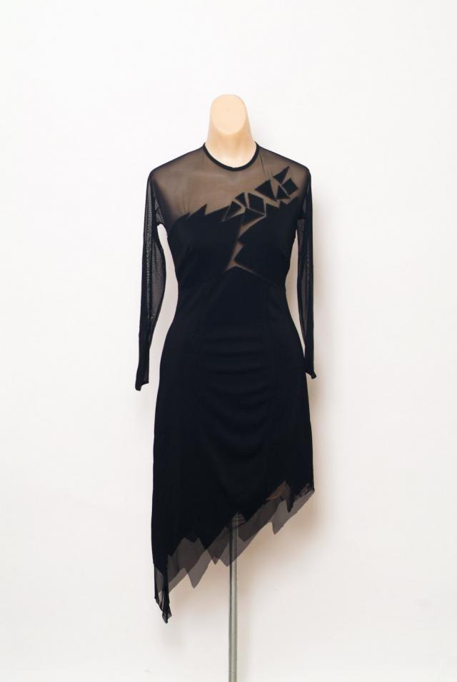 d7824cac5c6f Vintage 80s 90s Dress / Black Dress / Bodycon dress / Sexy / Club Dress /