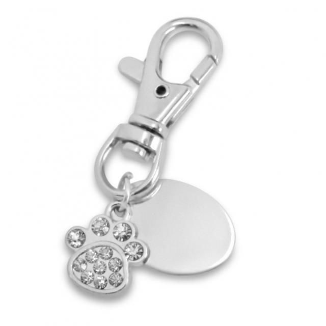 personalised keyring with gift pouch Custom Engraved PL166 Cross