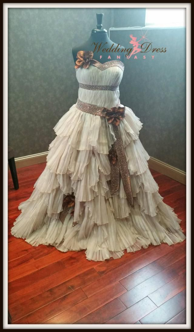 eb47c62319 Steampunk Wedding Dress Custom Made Rustic Bridal Gown with Optional  Sprockets and Gears