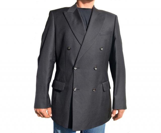 f3f689650435 Men Wool blazer Sport coat Mens Vintage Formal blazer Double Breasted Suit  blazer Gents jacket Super
