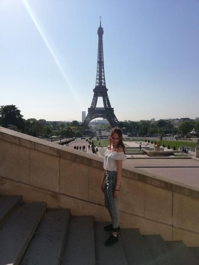 Traveled a lot, and finally saw the Eiffel Tower