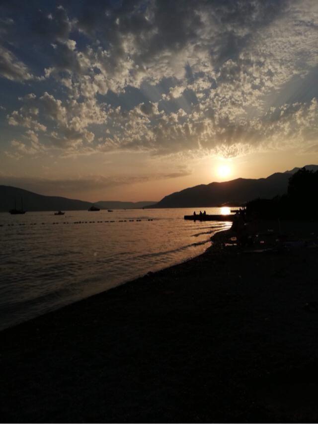 Montenegro beach.