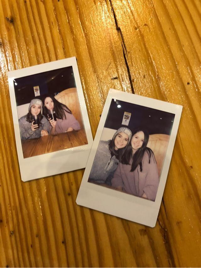 My mom got me a Polaroid camera for my birthday