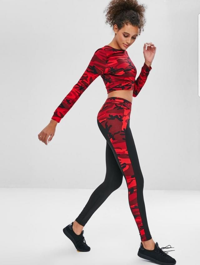As always ZAFUL provides the latest fashion and leads the trend style. What do you think about this athleisure set? I a…