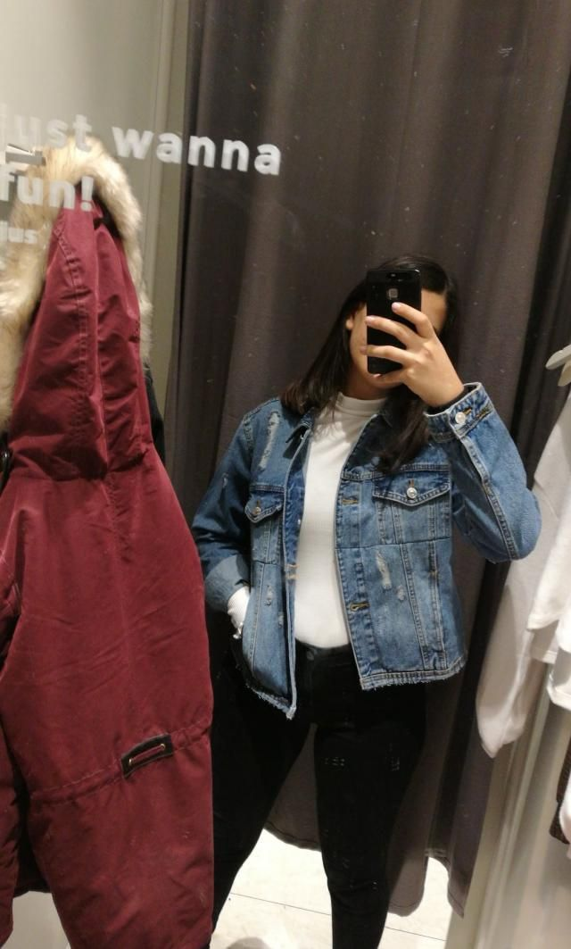 i luuuv denim jacketss!