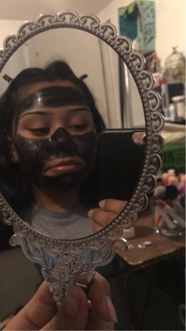 Peel off face masks