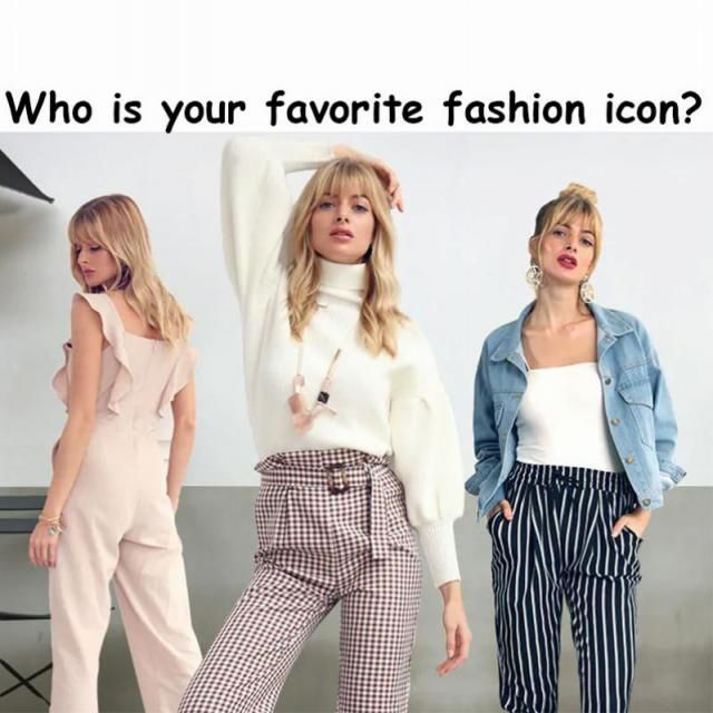 Who is your favorite fashion icon and what do you love most about his/her style? Is he/she a model,a movie star,or a s…