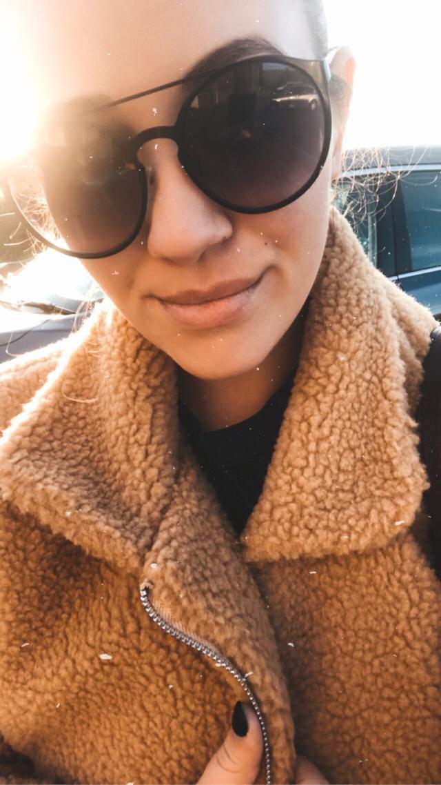 Feeling my teddy jacket today! Lerin' me Cozy