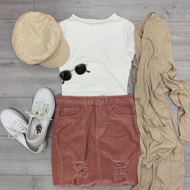 corduroy skirt | | |
