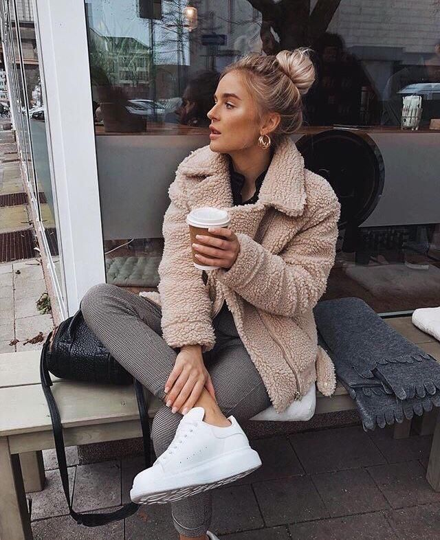 I'm so obsessed with teddy coats, and you can post perfect pictures with this coat❤️❤️❤️❤️❤️❤️    …