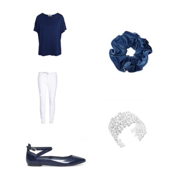 Simple but very cute and has lots of navy :))