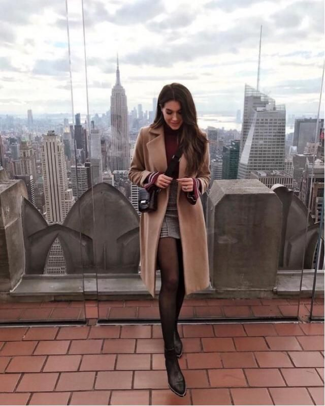 New York it's always a good idea, and more if you have a beautiful long coat❤️❤️❤️❤️❤️