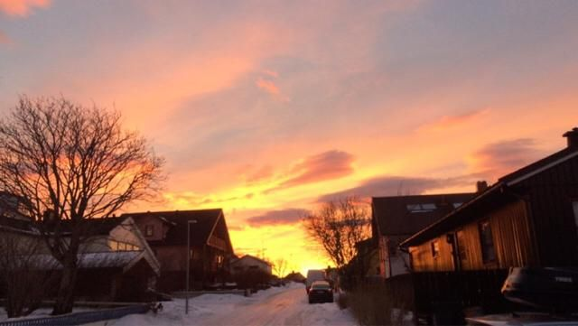 The sunset in Norway it is just so amazing