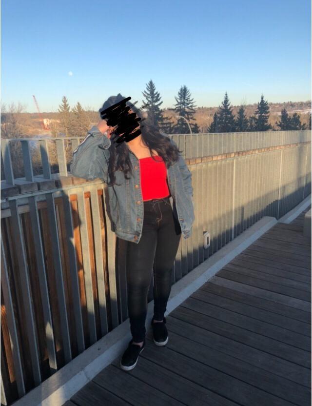jean jackets & tube tops