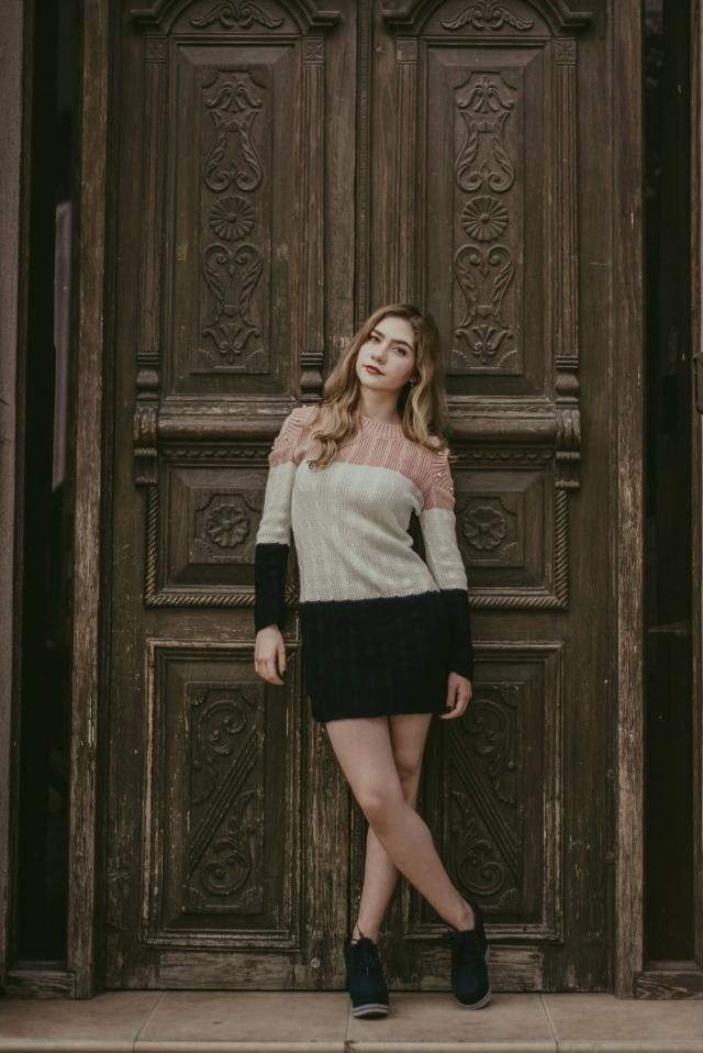 These napolitano drees sweater it's very soft and comfortable with these kind of weather. I felt sensual, cute, an…
