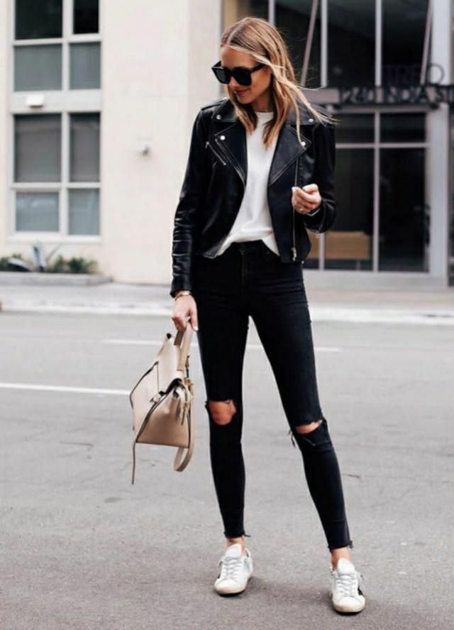 Leather jacket makes you look more confident and beautiful. It can add the beauty to any basic outfit. A must-have…