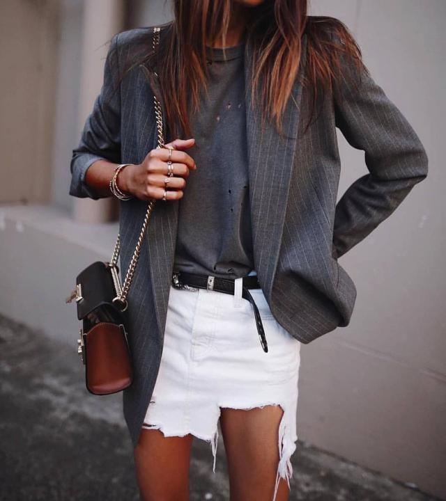 white skirt | | |