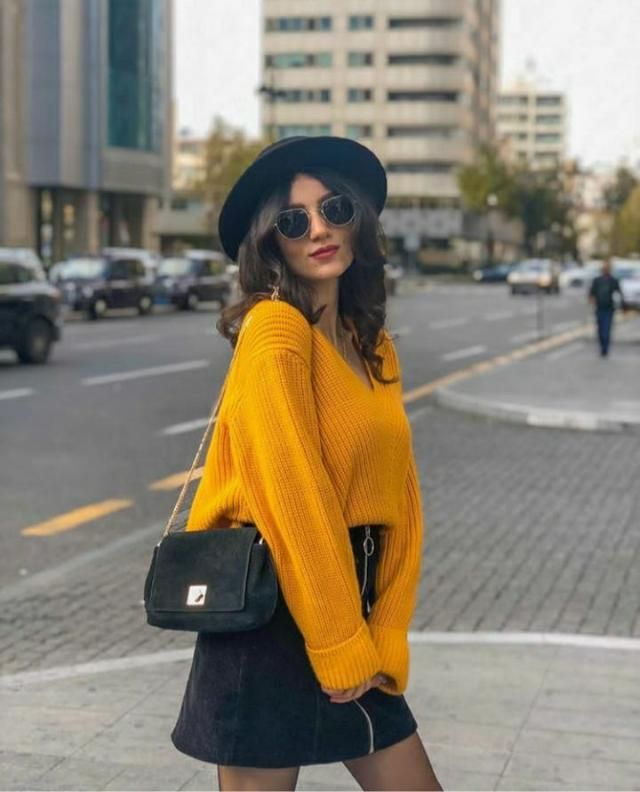 Yellow sweater looks so good on everyone. Get one fpr yourself from zaful. A. Striped panel sweater looks elegant.…