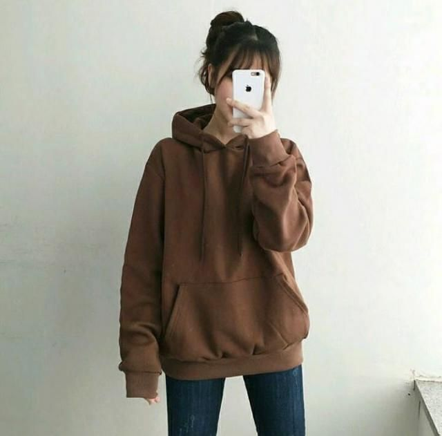 Fashion is all about looking stylish and beautiful while being comfortable. Brown hoodie, sweatshirt and jack…