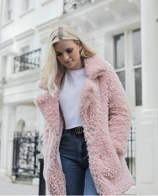 Teddy Coat are love. Super trendy and fabulous. Not only gives warm and comfortable but also makes you look s…