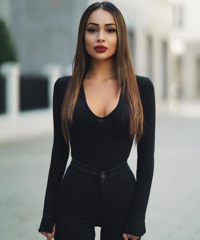 all black | | |